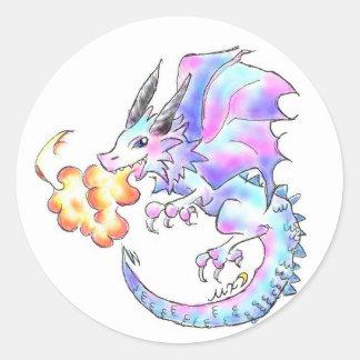 ドラゴンちゃん ラウンドシール