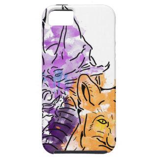 ドラゴンのキツネ iPhone SE/5/5s ケース