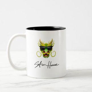 ドラゴンのサムの家 ツートーンマグカップ