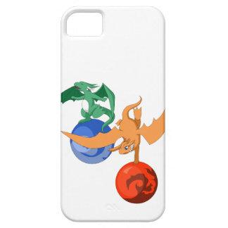 ドラゴンのサーカスのiPhone 5/5sの場合 iPhone SE/5/5s ケース