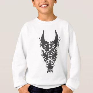 ドラゴンのスカル スウェットシャツ