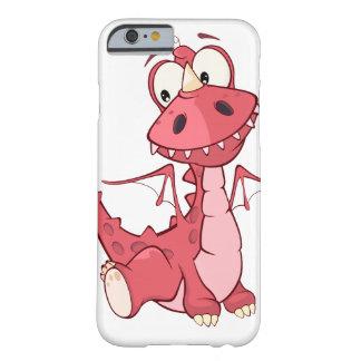 ドラゴンのスタイル BARELY THERE iPhone 6 ケース