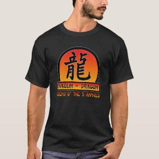 ドラゴンのスタイル Tシャツ