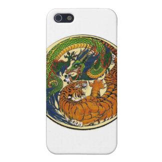 ドラゴンのトラ iPhone 5 ケース