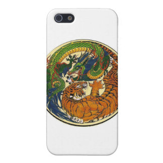 ドラゴンのトラ iPhone SE/5/5sケース