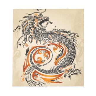 ドラゴンのノート ノートパッド