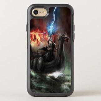 ドラゴンのバイキングの船 オッターボックスシンメトリーiPhone 8/7 ケース