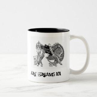 ドラゴンのマグ ツートーンマグカップ
