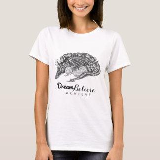 ドラゴンのミイラ|の夢は達成しますTシャツを信じます Tシャツ