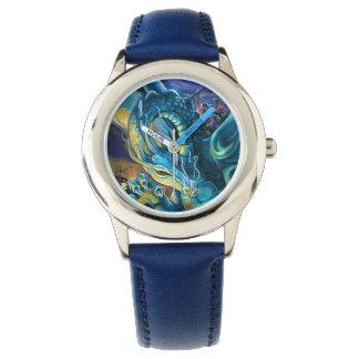 ドラゴンのライダーおよび魔術師 腕時計