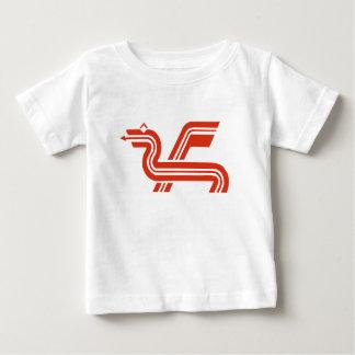 ドラゴンのロゴ ベビーTシャツ