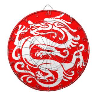 ドラゴンの中国の中国の要素 ダーツボード