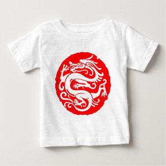 ドラゴンの中国の中国の要素 ベビーTシャツ