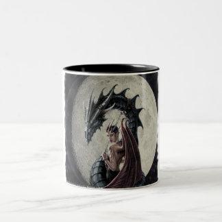 ドラゴンの主婦-ツートーンマグ ツートーンマグカップ