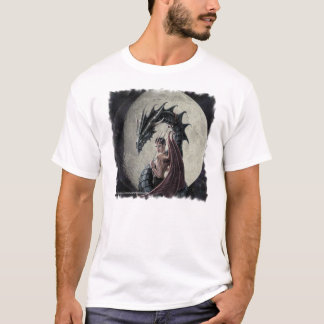 ドラゴンの主婦-性能マイクロ繊維の一重項 Tシャツ