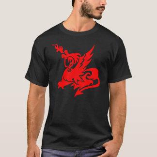 ドラゴンの入れ墨 Tシャツ