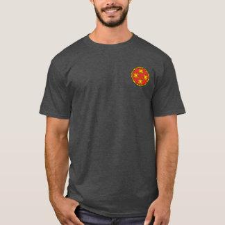 ドラゴンの円形のシールのワイシャツの順序 Tシャツ
