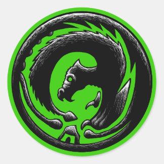ドラゴンの円 ラウンドシール