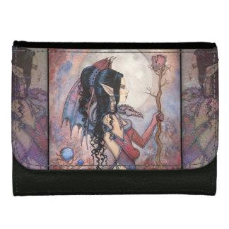 ドラゴンの女の子の妖精のファンタジーの妖精の芸術 ウォレット