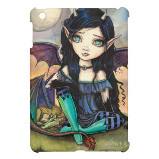 ドラゴンの子供のCugeの大きい目の妖精およびドラゴン iPad Miniカバー