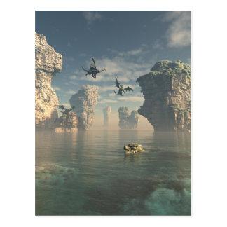 ドラゴンの崖 ポストカード
