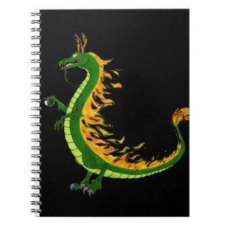 ドラゴンの年 ノートブック