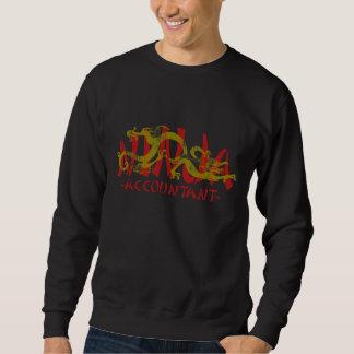 ドラゴンの忍者-会計士 スウェットシャツ