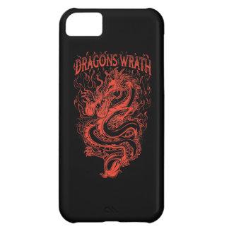 ドラゴンの憤りの赤 iPhone5Cケース