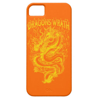 ドラゴンの憤りの黄色 iPhone SE/5/5s ケース