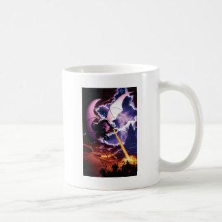 ドラゴンの攻撃のマグ コーヒーマグカップ