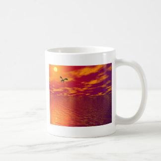 ドラゴンの日没 コーヒーマグカップ