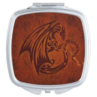 ドラゴンの正方形の密集した鏡