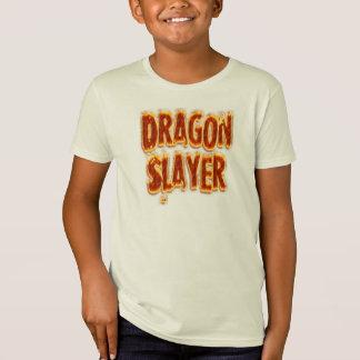 ドラゴンの殺害者の火 Tシャツ