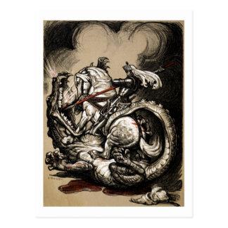 ドラゴンの殺害者 ポストカード