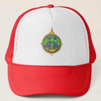 ドラゴンの火のコンパス面図の帽子 キャップ