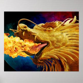 ドラゴンの火ポスター ポスター