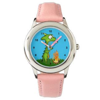 ドラゴンの火 腕時計