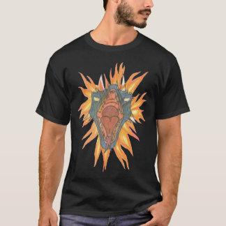 ドラゴンの火 Tシャツ