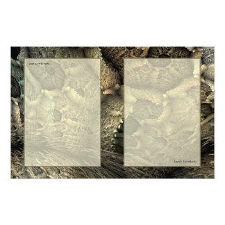 ドラゴンの皮のフラクタルの芸術のNotepaper 便箋