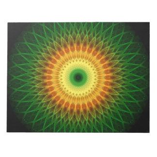 ドラゴンの目の曼荼羅 ノートパッド