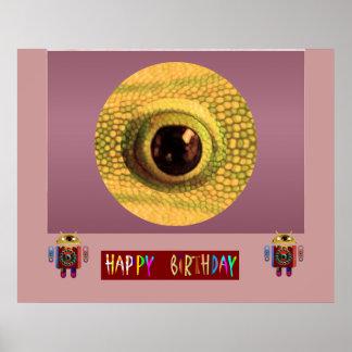 ドラゴンの目nのアンドロイド   : 共有の喜びを楽しんで下さい ポスター