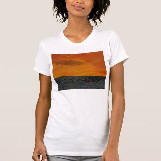 ドラゴンの競艇 Tシャツ