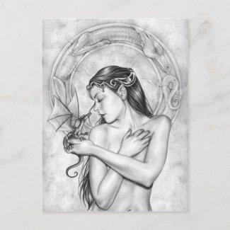ドラゴンの精神 ポストカード