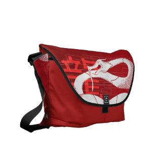 ドラゴンの精神: 愛国者 メッセンジャーバッグ