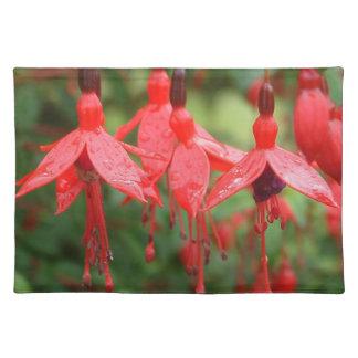 ドラゴンの花のアメリカ人のMoJoのランチョンマット ランチョンマット
