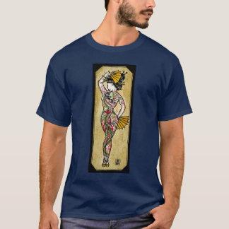 ドラゴンの芸者 Tシャツ