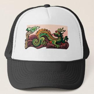 ドラゴンの蛇の入れ墨のファンタジーのフィクションのスケッチの芸術 キャップ