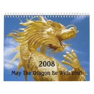 ドラゴンの運のモール カレンダー