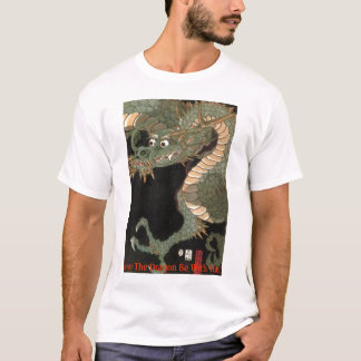 ドラゴンの運のモール Tシャツ