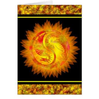 ドラゴンの陰陽 カード